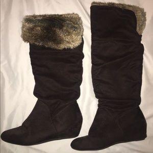 Report Faux Fur Boots
